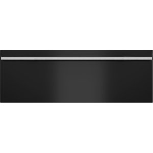 "30"" Contemporary Black Warming Drawer Front Panel - M Series"