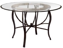 """Pompei Dining Table - Ctn B - 48"""" Round Glass Top Only"""