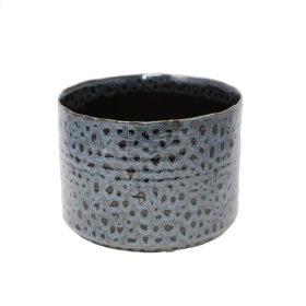 """Spotted Blue Planter 7"""""""