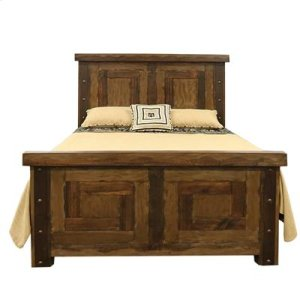 """King : 81"""" x 87"""" x 62.5"""" Uptown Bed"""