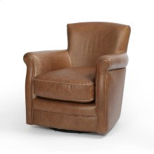 Cambridge Leather Swivel Chair