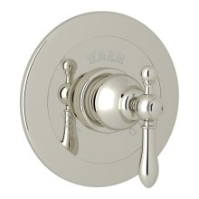 Polished Nickel Arcana Integrated Volume Control Pressure Balance Trim Without Diverter with Arcana Series Only Classic Metal Lever