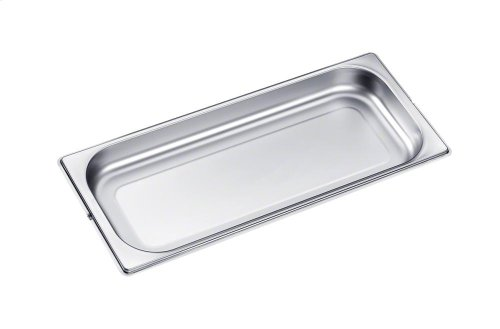 DGG 20 Unperforated steam oven pan for cooking food in gravy, stock, water (e.g. rice, pasta).