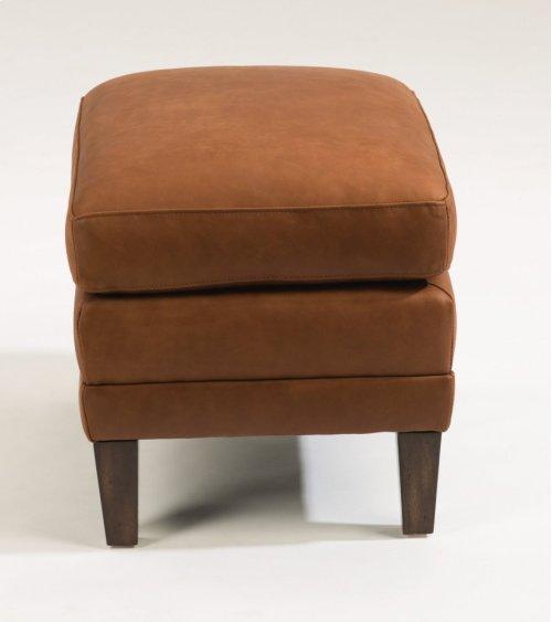Max Leather Ottoman