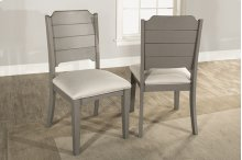 Clarion Side Dining Chair - Set of 2 - Distressed Gray