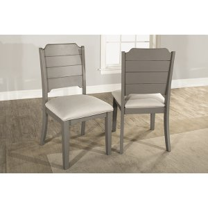 Hillsdale FurnitureClarion Side Dining Chair - Set of 2 - Distressed Gray