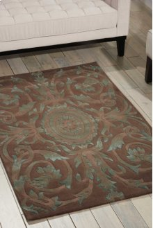 Moda Mod05 Mocha Rectangle Rug 5'6'' X 7'5''