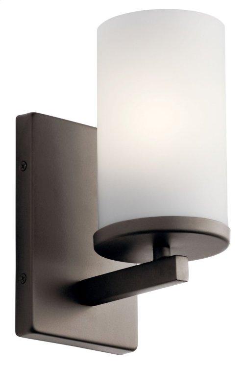 Crosby 1 Light Wall Sconce Olde Bronze®