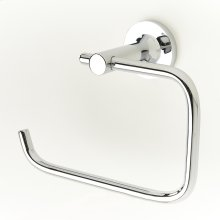 Paper Holder / Towel Ring Taos (series 17) Polished Chrome