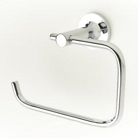 Paper Holder / Towel Ring River (series 17) Polished Chrome