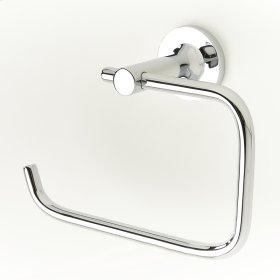 Paper Holder / Towel Ring River (series 17) Polished Chrome