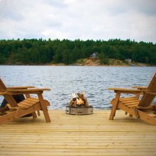 Gas Patioflame® with Logs