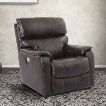 Julius Truffle Power Recliner