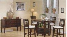 Oak Veneer Pub Table