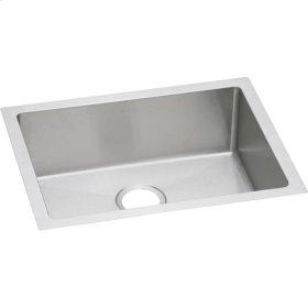 """Elkay Crosstown 16 Gauge Stainless Steel 23-1/2"""" x 18-1/4"""" x 8"""", Single Bowl Undermount Sink"""