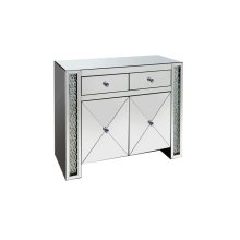 Contemporary Silver Cabinet
