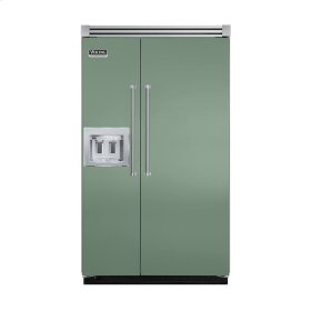 "Mint Julep 48"" Quiet Cool™ Side-by-Side with dispenser - VISB Tru-Flush™ (48"" wide)"