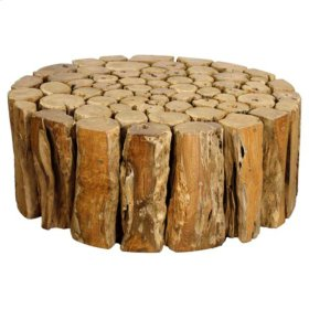 Bayou Branches Round Coffee Table, Natural