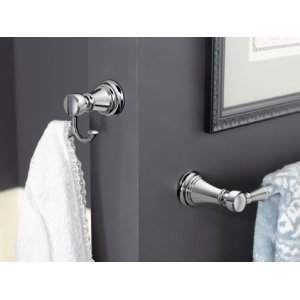 "Weymouth chrome 18"" towel bar"