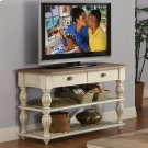 Coventry Two Tone - Console Table - Weathered Driftwood/dover White Finish Product Image