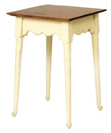 "#271 Splay Leg Table 17""wx17""dx25""h"