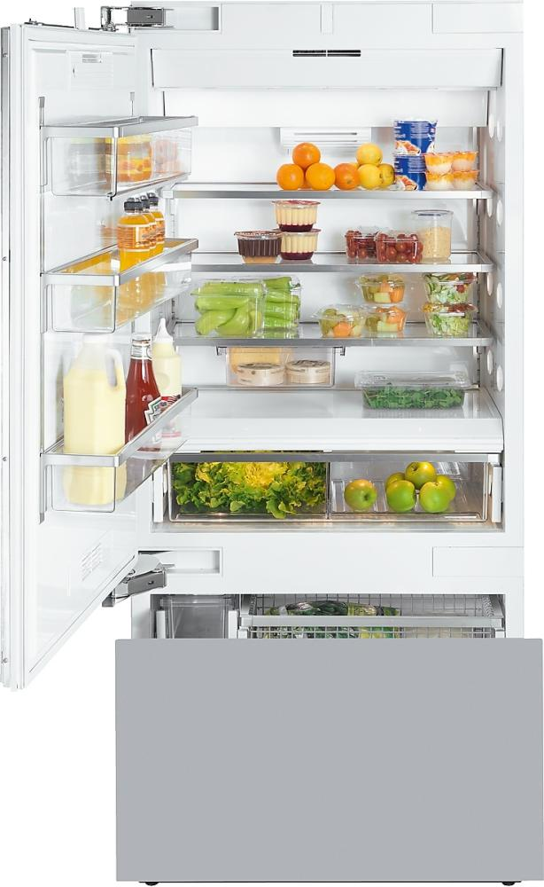 MIELE Bottom Freezer Refrigerators