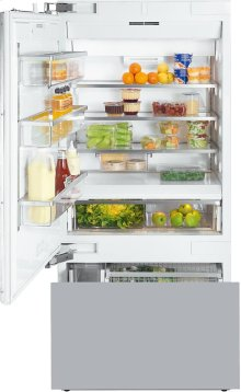 KF 1913 Vi MasterCool fridge-freezer with high-quality features and maximum storage space for exacting demands.