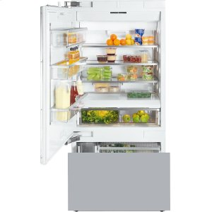 MieleKF 1913 SF MasterCool fridge-freezer with high-quality features and maximum storage space for exacting demands.