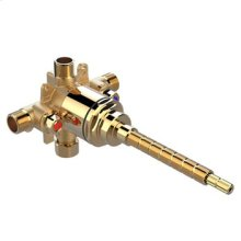 Pressure Balanced Valve With Integral Stops