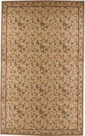 HARD TO FIND SIZES GRAND PARTERRE VA01 BEIGE RECTANGLE RUG 13'2'' x 21'4''