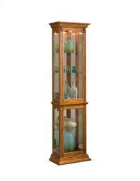 Estate Oak Mirrored Curio Product Image