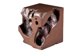 Freeform Stool Bronze, SM