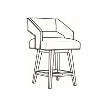 Swivel Counter Stool