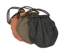 BTQ Fairfax Straw and Wood Bead Bag - Ast 3