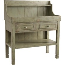 Accents Green Dry Sink