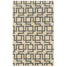 BOMBAY CHANNEL IVORY 2X3