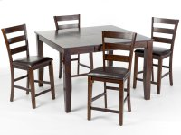 Kona Dining Set includes Table and 4 pub height stools Product Image