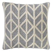 Radisson Pillow, PEWTER, 18X18