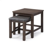 Emerald Home Wood Haven 2 PC Nesting Tables