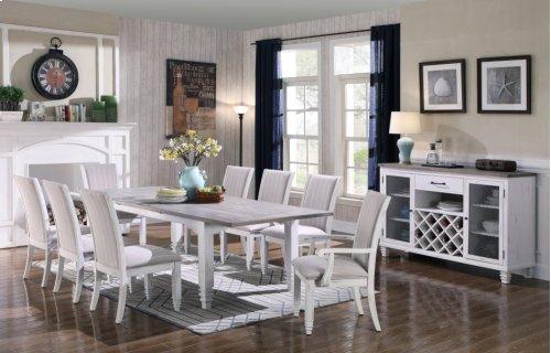 Emerald Home D719-50 Centerville Buffet, Antique White