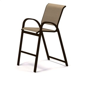 Aruba Sling Bar Height Stacking Cafe Chair