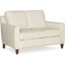 Bradington Young Weiss Stationary Loveseat 8-Way Tie 513-75