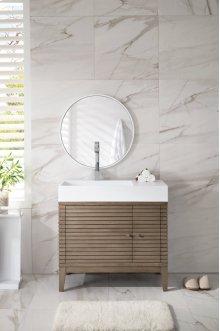 "Linear 36"" Single Bathroom Vanity"