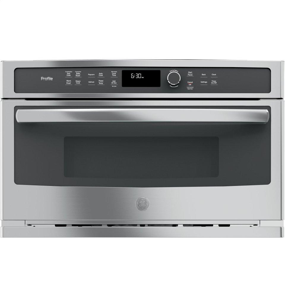 bb4b96e2e4ad GE Profile Series Built-In Microwave/convection Oven