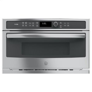 GE ProfileSeries Built-In Microwave/Convection Oven