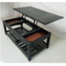 Rustic Grey Lift-top Coffee Table