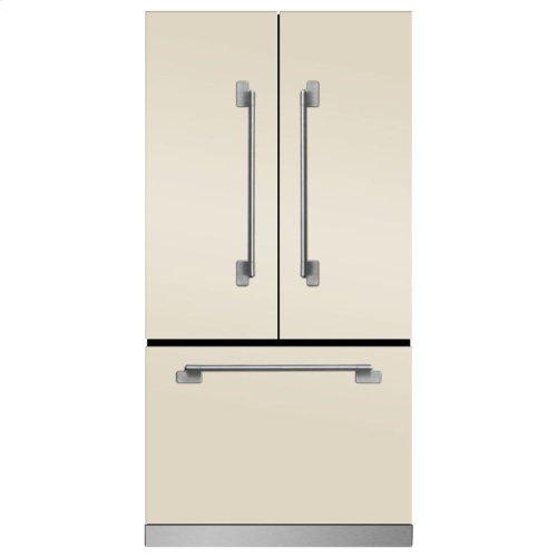 Marvel Elise Counter Depth French Door Refrigerator - Marvel Elise French Door Counter-Depth Refrigerator - Ivory