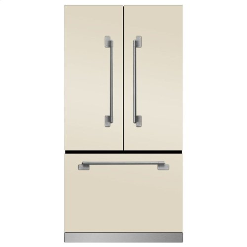 Marvel Elise Counter Depth French Door Refrigerator - Marvel Elise French Door Counter-Depth Refrigerator - Matte Black