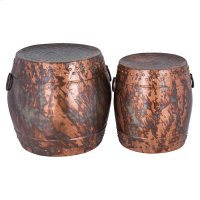 Zagora Set of 2 Stools Product Image