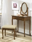 Woodland Oak Vanity, Mirror & Bench Product Image